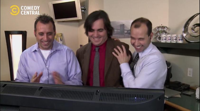 Capture d'écran Comedy Central Octobre 2018