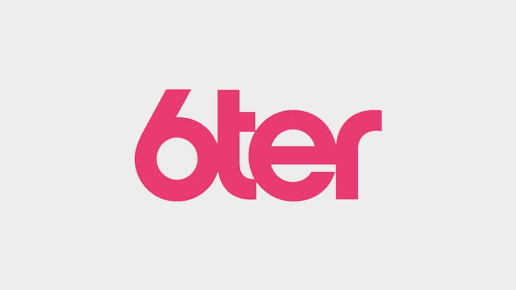 logo de la chaîne 6ter